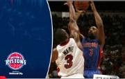 NBA 桌面壁纸 April 9 at Heat 桌面壁纸 200910赛季底特律活塞常规赛 体育壁纸