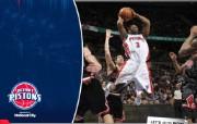 NBA 桌面壁纸 March 28 vs Bulls 桌面壁纸 200910赛季底特律活塞常规赛 体育壁纸