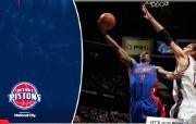 NBA 桌面壁纸 March 26 at Nets 桌面壁纸 200910赛季底特律活塞常规赛 体育壁纸