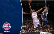 NBA 桌面壁纸 March 23 vs Pacers 桌面壁纸 200910赛季底特律活塞常规赛 体育壁纸
