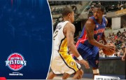 NBA 桌面壁纸 March 19 at Pacers 桌面壁纸 200910赛季底特律活塞常规赛 体育壁纸