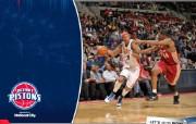 NBA 桌面壁纸 March 16 vs Cavaliers 桌面壁纸 200910赛季底特律活塞常规赛 体育壁纸