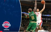 NBA 桌面壁纸 March 15 at Celtics 桌面壁纸 200910赛季底特律活塞常规赛 体育壁纸