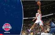 NBA 桌面壁纸 March 12 vs Wizards 桌面壁纸 200910赛季底特律活塞常规赛 体育壁纸
