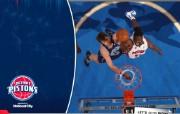 NBA 桌面壁纸 March 10 vs Jazz 桌面壁纸 200910赛季底特律活塞常规赛 体育壁纸