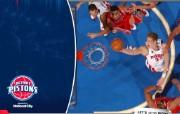 NBA 桌面壁纸 March 7 vs Rockets 桌面壁纸 200910赛季底特律活塞常规赛 体育壁纸