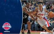 NBA 桌面壁纸 Feb 21 vs Spurs 桌面壁纸 200910赛季底特律活塞常规赛 体育壁纸