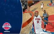 NBA 桌面壁纸 Feb 16 vs T Wolves 桌面壁纸 200910赛季底特律活塞常规赛 体育壁纸
