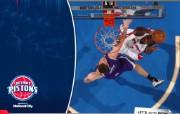NBA 桌面壁纸 Feb 10 vs Kings 桌面壁纸 200910赛季底特律活塞常规赛 体育壁纸
