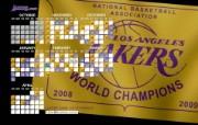 NBA 2009 10赛季洛杉矶湖人桌面壁纸 2009 10 Banner Wallpaper桌面壁纸 200910赛季洛杉矶湖人壁纸 体育壁纸