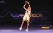 NBA 2009 10赛季洛杉矶湖人桌面壁纸 Adam Morrison桌面壁纸 200910赛季洛杉矶湖人壁纸 体育壁纸