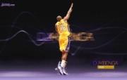 NBA 2009 10赛季洛杉矶湖人桌面壁纸 DJ Mbenga桌面壁纸 200910赛季洛杉矶湖人壁纸 体育壁纸