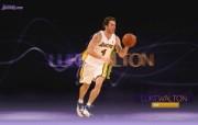 NBA 2009 10赛季洛杉矶湖人桌面壁纸 Luke Walton桌面壁纸 200910赛季洛杉矶湖人壁纸 体育壁纸