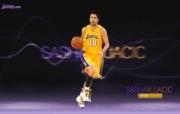NBA 2009 10赛季洛杉矶湖人桌面壁纸 Sasha Vujacic桌面壁纸 200910赛季洛杉矶湖人壁纸 体育壁纸