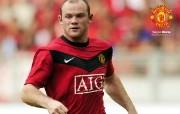英超 2009 10赛季 Manchester United 曼联球星壁纸 Wayne Rooney桌面壁纸 200910赛季 Manchester United 曼联球星壁纸 体育壁纸