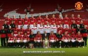 英超 2009 10赛季 Manchester United 曼联球星壁纸 Team Photo 2009 10桌面壁纸 200910赛季 Manchester United 曼联球星壁纸 体育壁纸