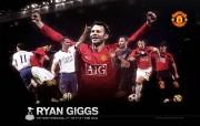 英超 2009 10赛季 Manchester United 曼联球星壁纸 SP09 Ryan Giggs桌面壁纸 200910赛季 Manchester United 曼联球星壁纸 体育壁纸