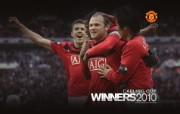 英超 2009 10赛季 Manchester United 曼联赛事壁纸 Carling Cup 2010 Rooney Celebates 200910赛季 Manchester United 曼联赛事壁纸 体育壁纸