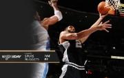 NBA Winning Wallpaper 04 10 10 200910赛季圣安东尼奥马刺常规赛桌面壁纸 体育壁纸