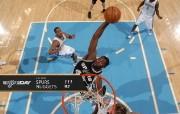NBA Winning Wallpaper 02 11 10 200910赛季圣安东尼奥马刺常规赛桌面壁纸 体育壁纸