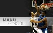 NBA 20 Manu Ginobili br 200910赛季圣安东尼奥马刺常规赛桌面壁纸 体育壁纸