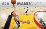 NBA 20 Manu Ginobili 200910赛季圣安东尼奥马刺常规赛桌面壁纸 体育壁纸