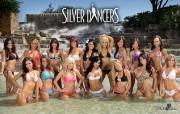 Silver Dancers 200910赛季圣安东尼奥马刺啦啦队壁纸 体育壁纸