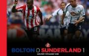 英超 2009 10赛季 Sunderland 桑德兰壁纸 Bolton 0 Sunderland 1桌面壁纸 200910赛季 Sunderland 桑德兰壁纸 体育壁纸