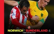 英超 2009 10赛季 Sunderland 桑德兰壁纸 Norwich 1 Sunderland 4桌面壁纸 200910赛季 Sunderland 桑德兰壁纸 体育壁纸