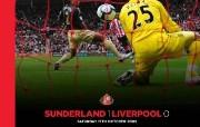 英超 2009 10赛季 Sunderland 桑德兰壁纸 Sunderland 1 Liverpool 1桌面壁纸 200910赛季 Sunderland 桑德兰壁纸 体育壁纸