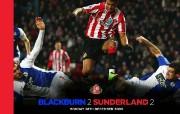 英超 2009 10赛季 Sunderland 桑德兰壁纸 Blackburn 2 Sunderland 2桌面壁纸 200910赛季 Sunderland 桑德兰壁纸 体育壁纸