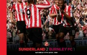 英超 2009 10赛季 Sunderland 桑德兰壁纸 Sunderland 2 Burnley FC 1桌面壁纸 200910赛季 Sunderland 桑德兰壁纸 体育壁纸