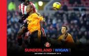 英超 2009 10赛季 Sunderland 桑德兰壁纸 Sunderland 1 Wigan 1桌面壁纸 200910赛季 Sunderland 桑德兰壁纸 体育壁纸