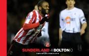 英超 2009 10赛季 Sunderland 桑德兰壁纸 Sunderland 4 Bolton 0桌面壁纸 200910赛季 Sunderland 桑德兰壁纸 体育壁纸