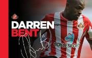 英超 2009 10赛季 Sunderland 桑德兰壁纸 Darren Bent桌面壁纸 200910赛季 Sunderland 桑德兰壁纸 体育壁纸