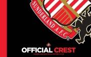 英超 2009 10赛季 Sunderland 桑德兰壁纸 SAFC Crest桌面壁纸 200910赛季 Sunderland 桑德兰壁纸 体育壁纸