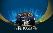 2010NBA季后赛壁纸 俄克拉何马城雷霆 Thunder Rise Togther桌面壁纸 2010NBA季后赛壁纸俄克拉何马城雷霆 体育壁纸