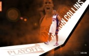 2010NBA季后赛壁纸 菲尼克斯太阳 Jarron Collins 桌面壁纸 2010NBA季后赛壁纸菲尼克斯太阳 体育壁纸