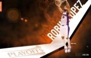 2010NBA季后赛壁纸 菲尼克斯太阳 Robin Lopez 桌面壁纸 2010NBA季后赛壁纸菲尼克斯太阳 体育壁纸