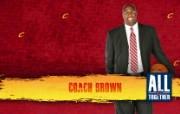 2010NBA季后赛壁纸 克里夫兰骑士 Coach Brown 图片壁纸 2010NBA季后赛壁纸克里夫兰骑士 体育壁纸
