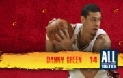 2010NBA季后赛壁纸 克里夫兰骑士 Danny Green 图片壁纸 2010NBA季后赛壁纸克里夫兰骑士 体育壁纸