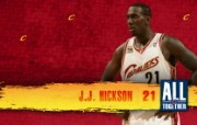 2010NBA季后赛壁纸 克里夫兰骑士 J J Hickson 图片壁纸 2010NBA季后赛壁纸克里夫兰骑士 体育壁纸