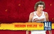 2010NBA季后赛壁纸 克里夫兰骑士 Anderson Varejao 图片壁纸 2010NBA季后赛壁纸克里夫兰骑士 体育壁纸