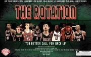 2010NBA季后赛壁纸 密尔沃基雄鹿 The Rotation桌面壁纸 2010NBA季后赛壁纸密尔沃基雄鹿 体育壁纸
