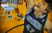2010NBA季后赛壁纸 犹他爵士 playoffs 2010桌面壁纸 2010NBA季后赛壁纸犹他爵士 体育壁纸