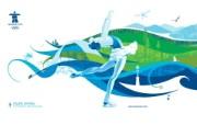 figure skating 花样滑冰桌面壁纸 2010 年温哥华冬奥会官方壁纸 体育壁纸