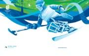 alpine skiing 残奥高山滑雪桌面壁纸 2010 年温哥华冬奥会官方壁纸 体育壁纸