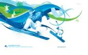 snowboard cross 单板滑雪越野赛桌面壁纸 2010 年温哥华冬奥会官方壁纸 体育壁纸