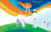 温哥华冬季奥运会火炬接力桌面壁纸 2010 年温哥华冬奥会官方壁纸 体育壁纸