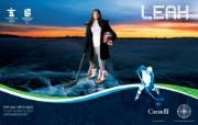 宣传海报 Find Your Passion in Sport Leah Sulyma桌面壁纸 2010 年温哥华冬奥会官方壁纸 体育壁纸